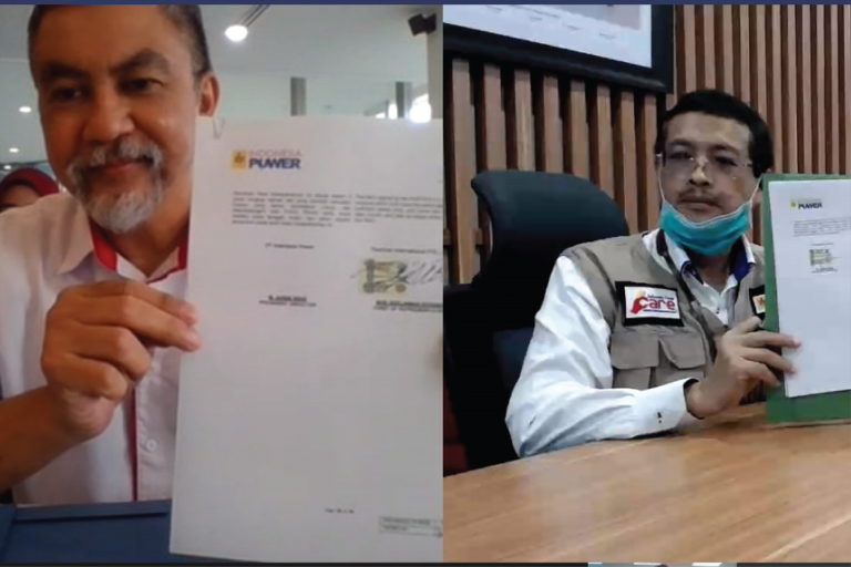 MOU Signing with PT Indonesia Power April 27, 2020